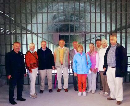 OBG-Ausflug zum ehemaligen Regierungsbunker in Ahrweiler.